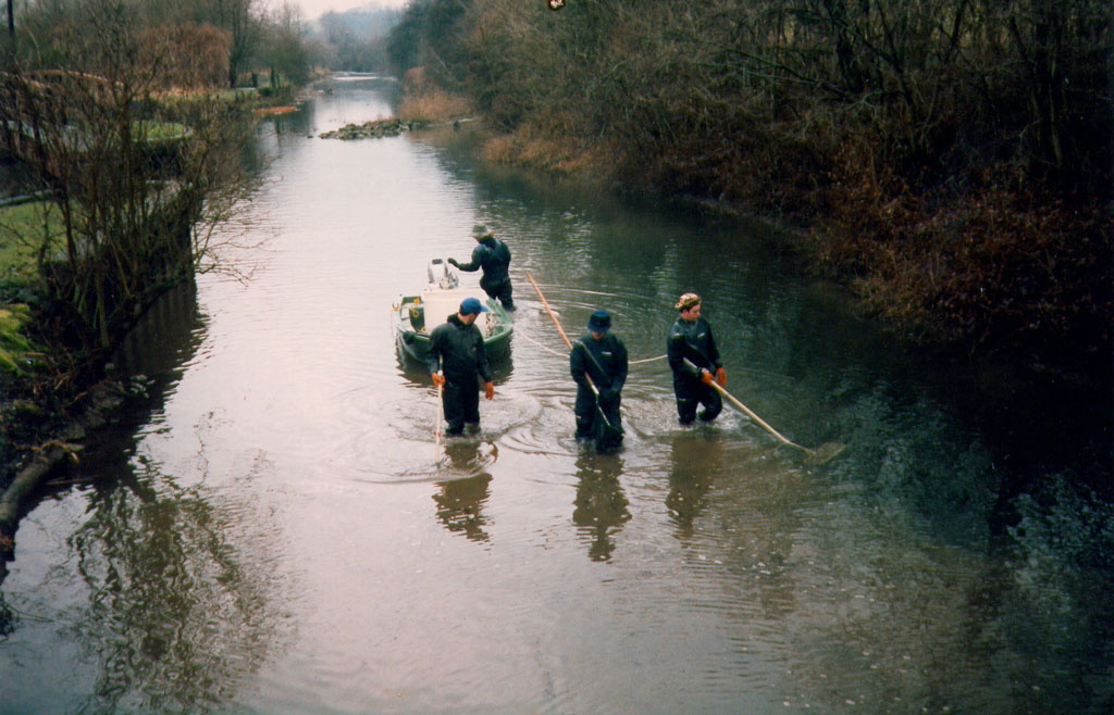 Electro-fishing in the 1990s
