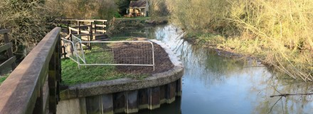 Repaired River Wall